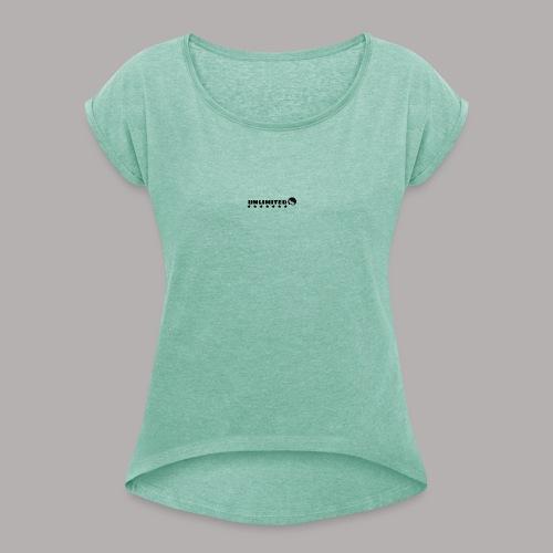 unlimited - Camiseta con manga enrollada mujer