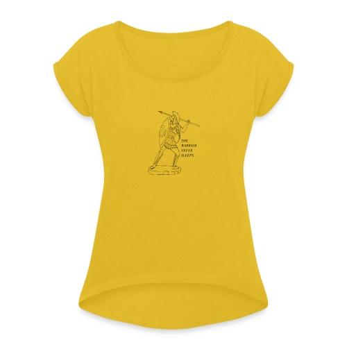 WARRIOR - Maglietta da donna con risvolti