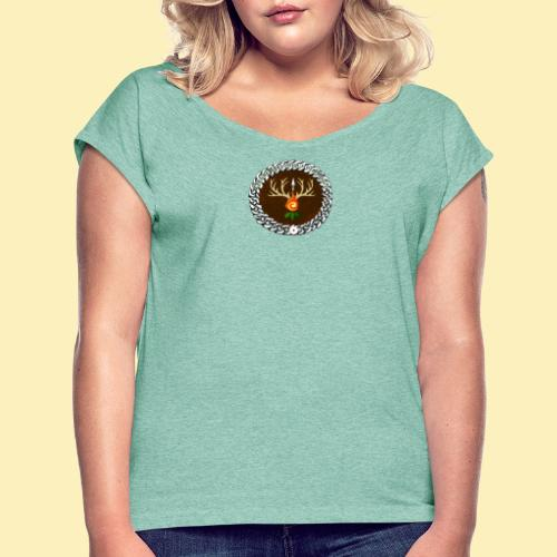 Médaillon de Neved - T-shirt à manches retroussées Femme
