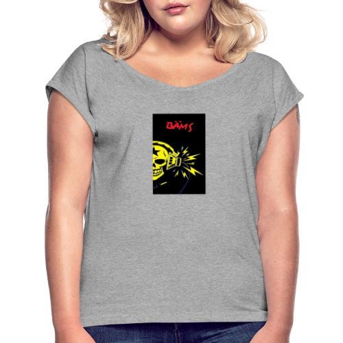 baems - Frauen T-Shirt mit gerollten Ärmeln