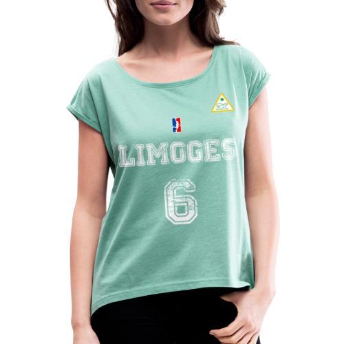 Replica 2020 - T-shirt à manches retroussées Femme