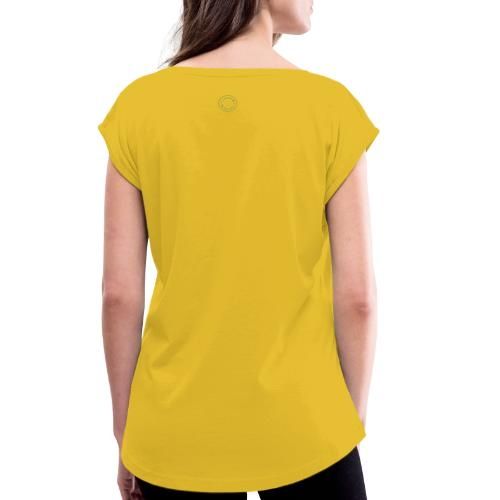 Logo Stamp - Women's T-Shirt with rolled up sleeves
