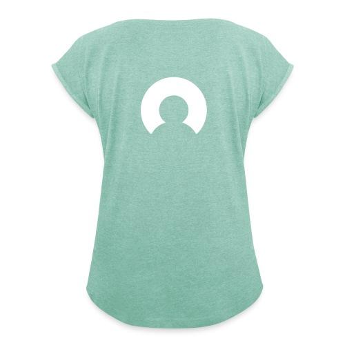Essentials for Me - Vrouwen T-shirt met opgerolde mouwen