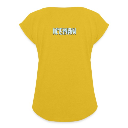 Iceman - Maglietta da donna con risvolti