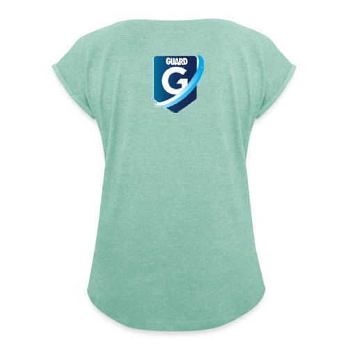 Guard Clothing - Women's T-Shirt with rolled up sleeves