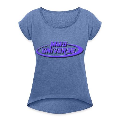MMO-Universe - Maglietta da donna con risvolti
