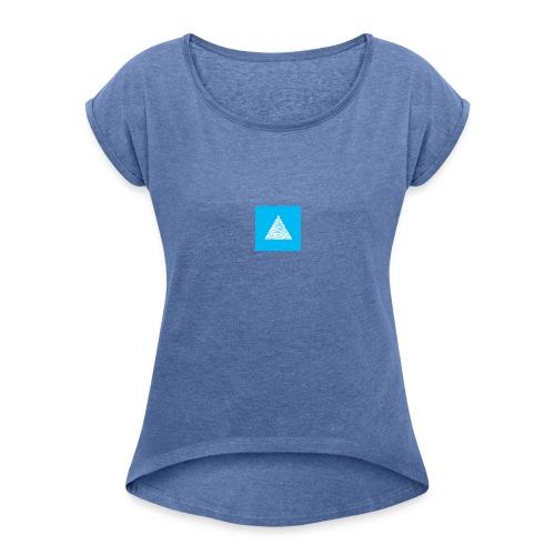 WHM logo - T-shirt à manches retroussées Femme
