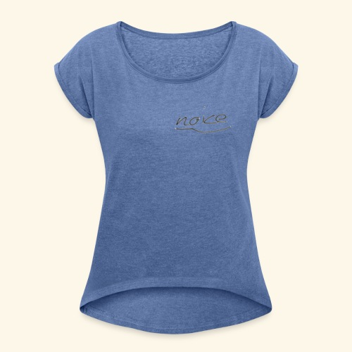 NOICE - Frauen T-Shirt mit gerollten Ärmeln