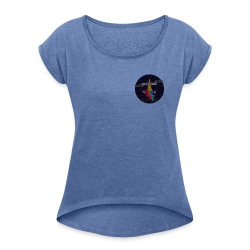 GOD A UNICORN - T-shirt à manches retroussées Femme