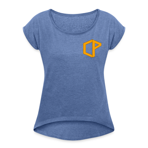 Clevprof Logo - Women's T-shirt with rolled up sleeves