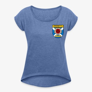 Montrose FC Supporters Club - Women's T-shirt with rolled up sleeves