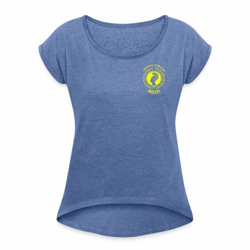NBKALogga - T-shirt med upprullade ärmar dam