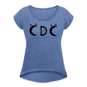 Logo CDC - T-shirt à manches retroussées Femme
