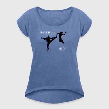 Håndbold Mamma Collection - Dame T-shirt med rulleærmer