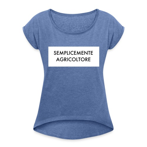 image - Maglietta da donna con risvolti