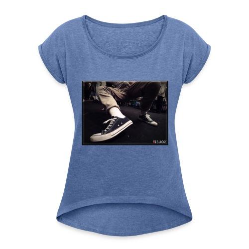 My Steps by SUOS. - Maglietta da donna con risvolti