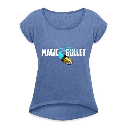13155542 - Frauen T-Shirt mit gerollten Ärmeln