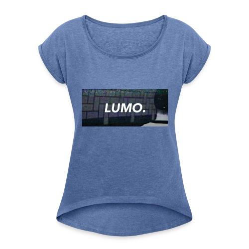 Lumo Label - Frauen T-Shirt mit gerollten Ärmeln