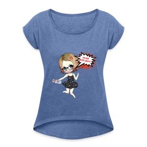 LuuvaSalt - Frauen T-Shirt mit gerollten Ärmeln