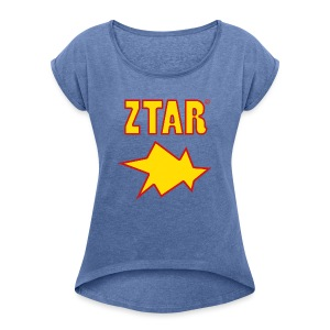 ztar3b - Women's T-shirt with rolled up sleeves