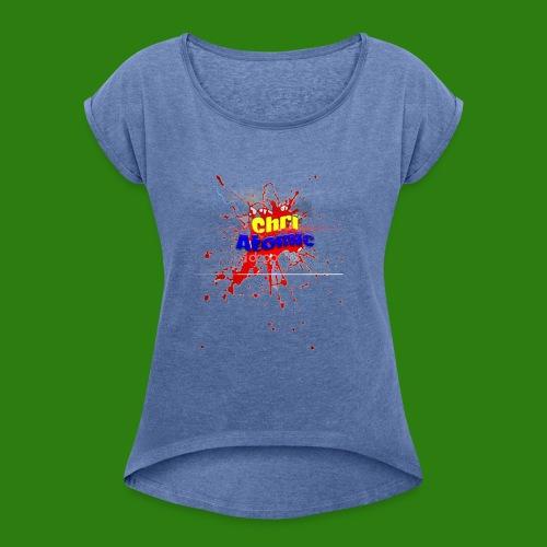 Varie di ChriAtomic - Maglietta da donna con risvolti