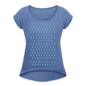 Se al Piof - Maglietta da donna con risvolti