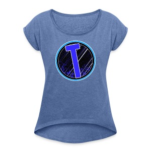 Truxer Old Logo Transparent - Women's T-shirt with rolled up sleeves