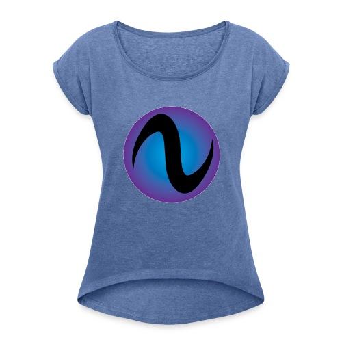 Isix - T-shirt à manches retroussées Femme