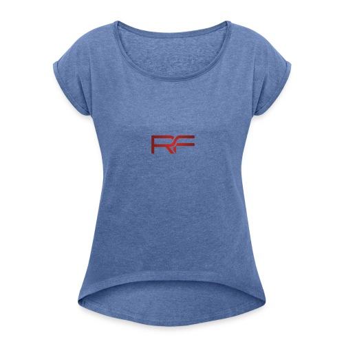 REDFIIT - T-shirt à manches retroussées Femme