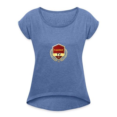 FUT Champions - Frauen T-Shirt mit gerollten Ärmeln