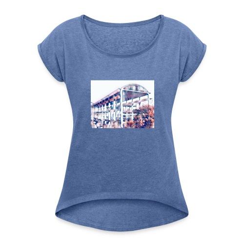 cementify color - Maglietta da donna con risvolti