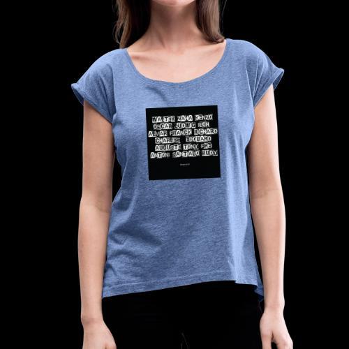 Les architectes - T-shirt à manches retroussées Femme