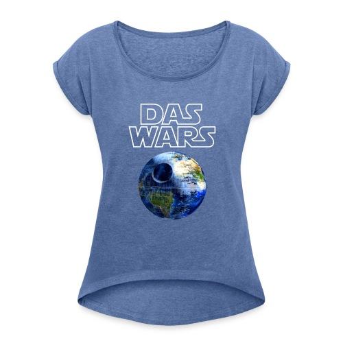 todeserde - Frauen T-Shirt mit gerollten Ärmeln