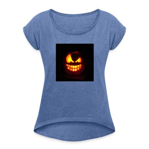 halloween jack - Maglietta da donna con risvolti