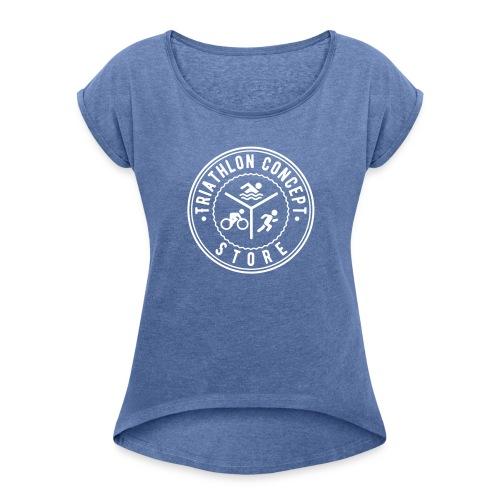 Triathlon Concept Store - Frauen T-Shirt mit gerollten Ärmeln