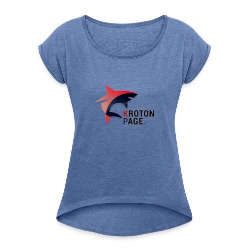logo-png - Maglietta da donna con risvolti