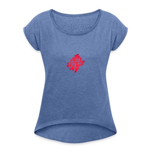 Rvndom shi7 - T-shirt à manches retroussées Femme