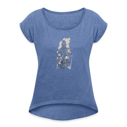 German Masters - Women's T-Shirt with rolled up sleeves