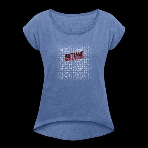 UD6 - Le T-shirt saisonnier - T-shirt à manches retroussées Femme