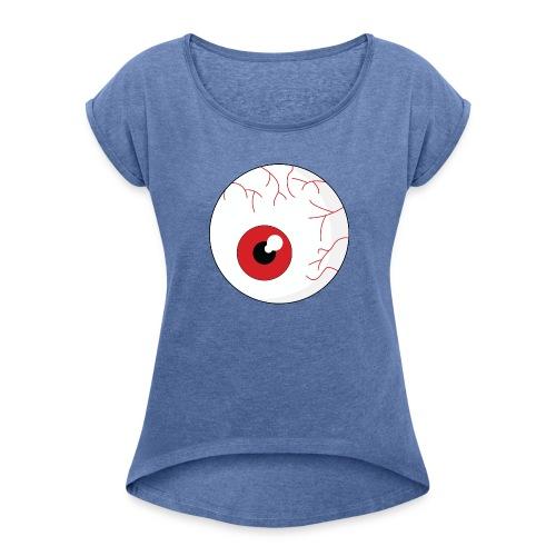 O - T-shirt à manches retroussées Femme