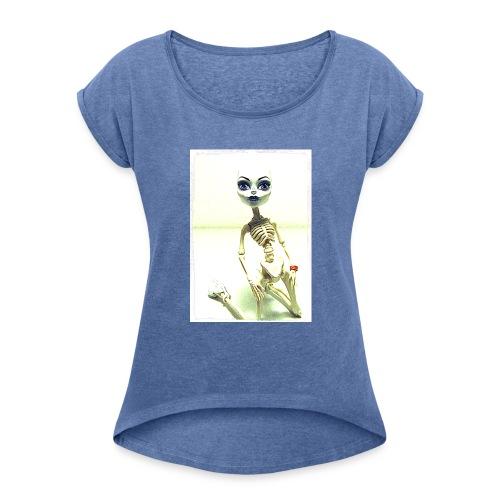 Annie Rexie - T-shirt à manches retroussées Femme