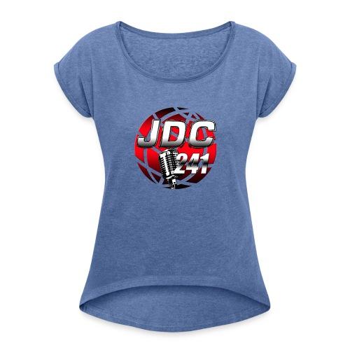 Je Dénonce 241 - T-shirt à manches retroussées Femme