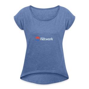 Native Network - Frauen T-Shirt mit gerollten Ärmeln