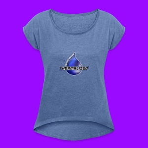 Thermalized logo - Women's T-shirt with rolled up sleeves