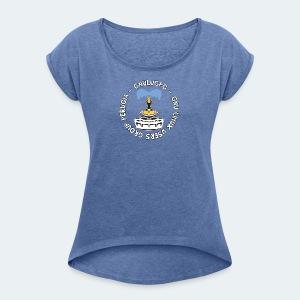 LUG Perugia - Maglietta da donna con risvolti