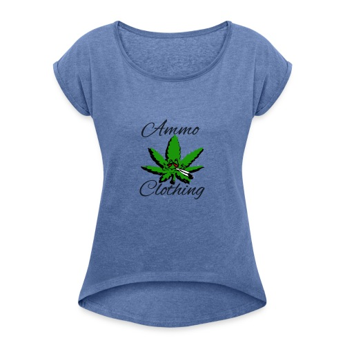 Mr Stoner Summer Wear - Women's T-shirt with rolled up sleeves