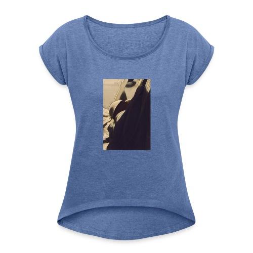 16996123 10208609192254192 8006389494154096600 n 1 - Frauen T-Shirt mit gerollten Ärmeln