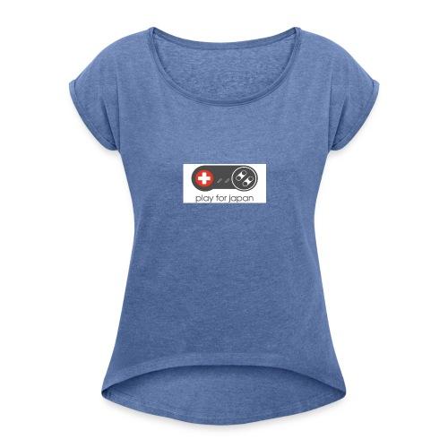 collection homme Geek manette - T-shirt à manches retroussées Femme