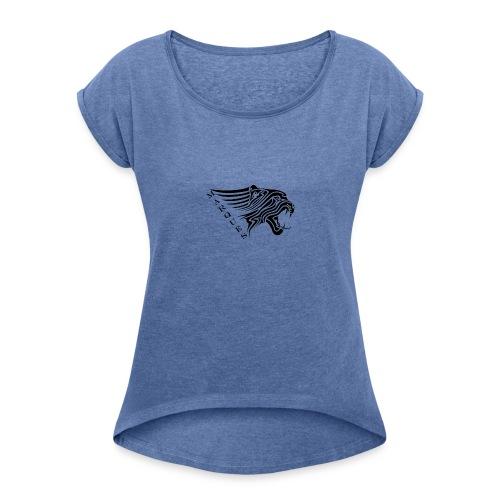 MARQUES - Frauen T-Shirt mit gerollten Ärmeln