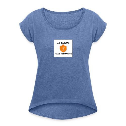 La Buleta delle Sommesse - Maglietta da donna con risvolti